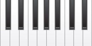 Simple piano keys Royalty Free Stock Image