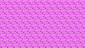 Simple pink and purple background. With some little flowers and squares Stock Photos