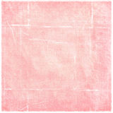 Simple Pink Worn Folded Grunge Paper Background Royalty Free Stock Image