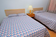 Simple and plain lodging Stock Photo