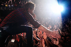 Simple Plan band performs at Razzmatazz Stock Photography