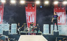 Simple Plan Stock Images