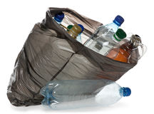 Simple plastic bottles Royalty Free Stock Image