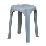 Simple plastic stool Royalty Free Stock Image