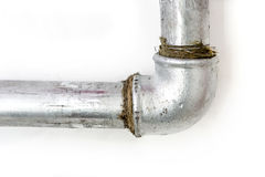 Simple plumbing stock photo