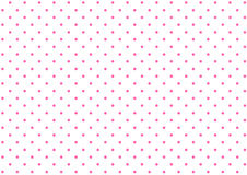 Simple polka dot background. Simple polka dot pattern of pink and white dots background Royalty Free Stock Images
