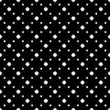 Simple polka dot minimalist pattern. Vector monochrome seamless pattern. Black & white repeat minimalist background with dots, diagonal array. Simple dark vector illustration