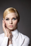 Simple portrait of a girl Royalty Free Stock Photo