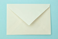 Simple postal envelope. Stock Images
