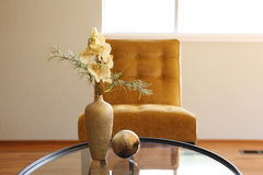 Simple and pretty decoration for bright room Royalty Free Stock Photo
