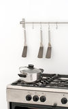 Simple professional kitchen Royalty Free Stock Photography