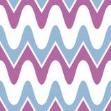 Simple purple blue scalloped seamless pattern Royalty Free Stock Image