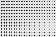 Simple Rectangle Black Halftone, at Transparent Effect Background. Vector Simple Rectangle Black Halftone, at Transparent Effect Backgroundn Royalty Free Stock Photos
