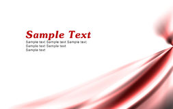 Simple Red Background Royalty Free Stock Photography