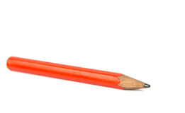 Simple red pencil Stock Photos