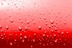 Simple red waterdrops Royalty Free Stock Photos