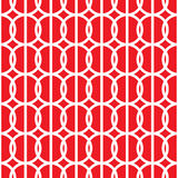 Simple repeating texture with circles and vertical stripes. Vector seamless pattern Stock Image