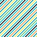 Simple retro geometric striped pattern. Background to copy without any seams.Vector fashion endless texture can be used for printi. Simple retro geometric Stock Photography