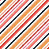 Simple retro geometric striped pattern. Background to copy without any seams.Vector fashion endless texture can be used for printi. Simple retro geometric Stock Images
