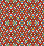Simple  rhombus pattern. Stock Images