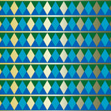 Simple rhythmic geometric pattern Royalty Free Stock Photo