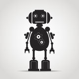 Simple robot stock illustration