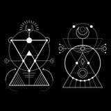 Sacred Geometry magic Royalty Free Stock Photo