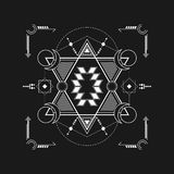 Simple Sacred Geometry Stock Photography