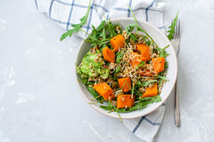 Simple salad of baked carrots Royalty Free Stock Image