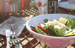 A Simple Salad Stock Photography