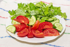 Simple salad Royalty Free Stock Images