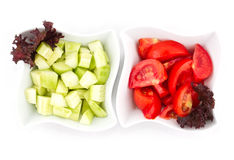 Simple Salad Stock Photography