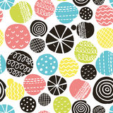Simple scandinavian pattern Stock Photography
