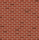 Simple seamless brick wall Royalty Free Stock Image