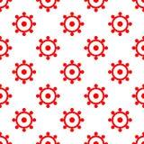 Simple seamless circle pattern. Illustration vector illustration