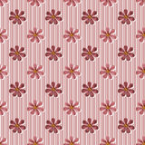 Simple seamless floral pattern background Stock Photography