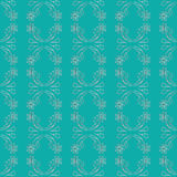 Simple Seamless Floral Textured Pattern Stock Image
