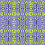 Simple Seamless Flower Pattern Stock Photos
