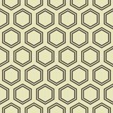 Honey Comb Pattern. Simple seamless honey comb geometrical pattern stock illustration