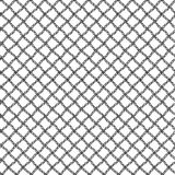 Simple seamless lace mesh of the loops. Black repeating pattern   Stock Photos