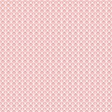 Simple seamless lace mesh texture. White grid on the pink background. Vector illustration Stock Image