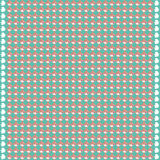 Simple seamless light dim background. Simple vektor pattern of repeating shapes rhombuses background of aqua with whitish pink drawing scribbles Royalty Free Stock Photo