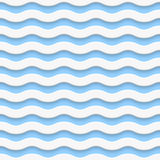 Simple seamless light wave pattern Royalty Free Stock Photos