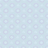 Simple seamless minimalistic floral winter pattern Stock Images