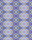 Simple seamless modern chevron zig zag pattern Royalty Free Stock Photography