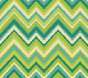 Simple seamless modern chevron zig zag pattern Royalty Free Stock Photo