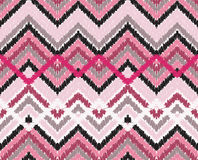 Simple seamless modern chevron zig zag pattern Stock Photography