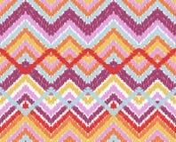Simple seamless modern chevron zig zag pattern Royalty Free Stock Photos