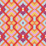 Simple seamless modern chevron zig zag pattern Stock Photo