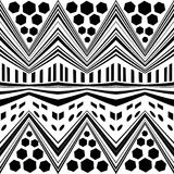 Simple seamless modern chevron zig zag pattern Royalty Free Stock Images